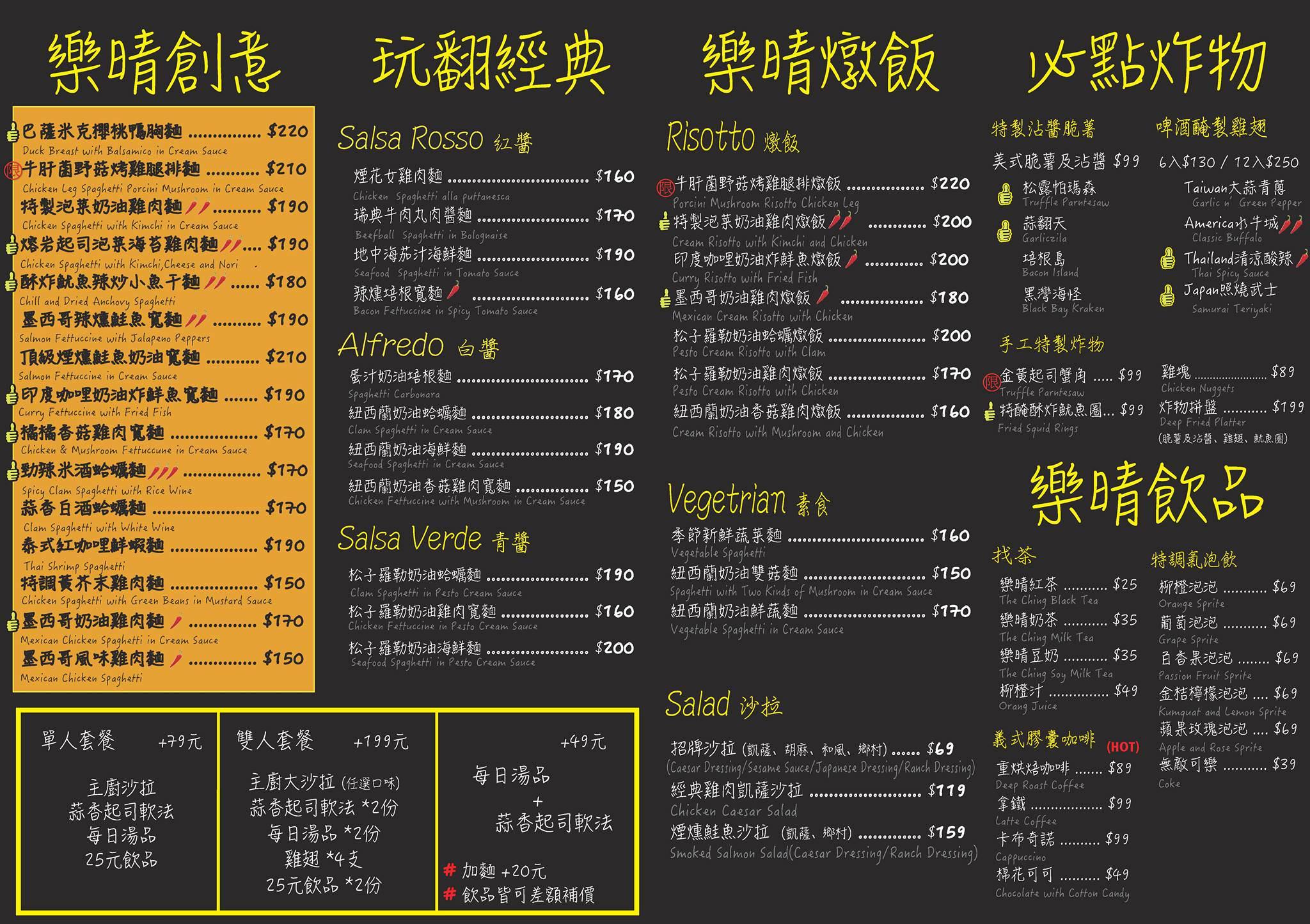 20170921230159 79 - 熱血採訪 | 樂晴THE CHING,逢甲美式餐廳,香酥魷魚圈有台式風貌,超涮嘴~(已歇業)