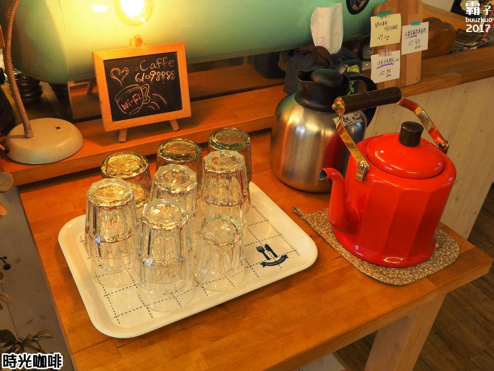 20171013221936 33 - 時光咖啡,日雜風咖啡館,抹茶咖啡拿鐵配磅蛋糕~