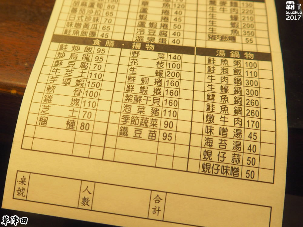 20171022233438 26 - 草津田串燒,北區居家型小酌串燒店,不少人推薦點肥美生蠔~