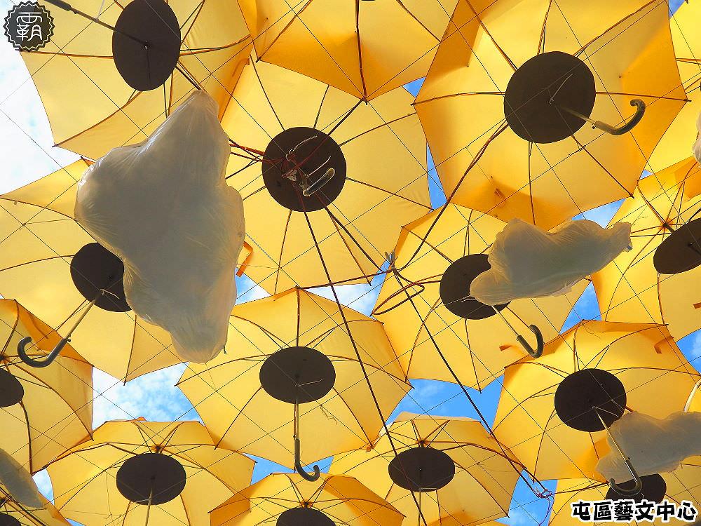 20171121005241 53 - 屯區藝文中心,閃亮花博裝置藝術展,花花綠綠的傘藝術品,IG打卡新寵兒~