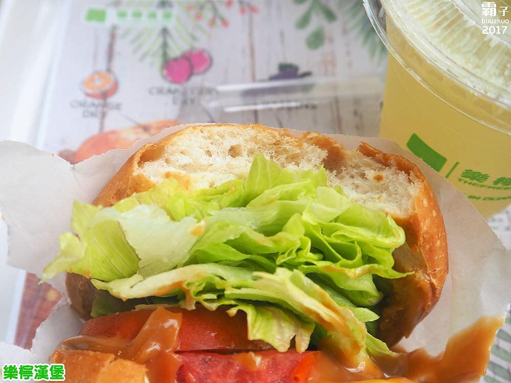20171122182001 37 - 樂檸漢堡,台中轉運站內也有扎實肉香牛肉堡,搭配花生醬,經典美式吃法~
