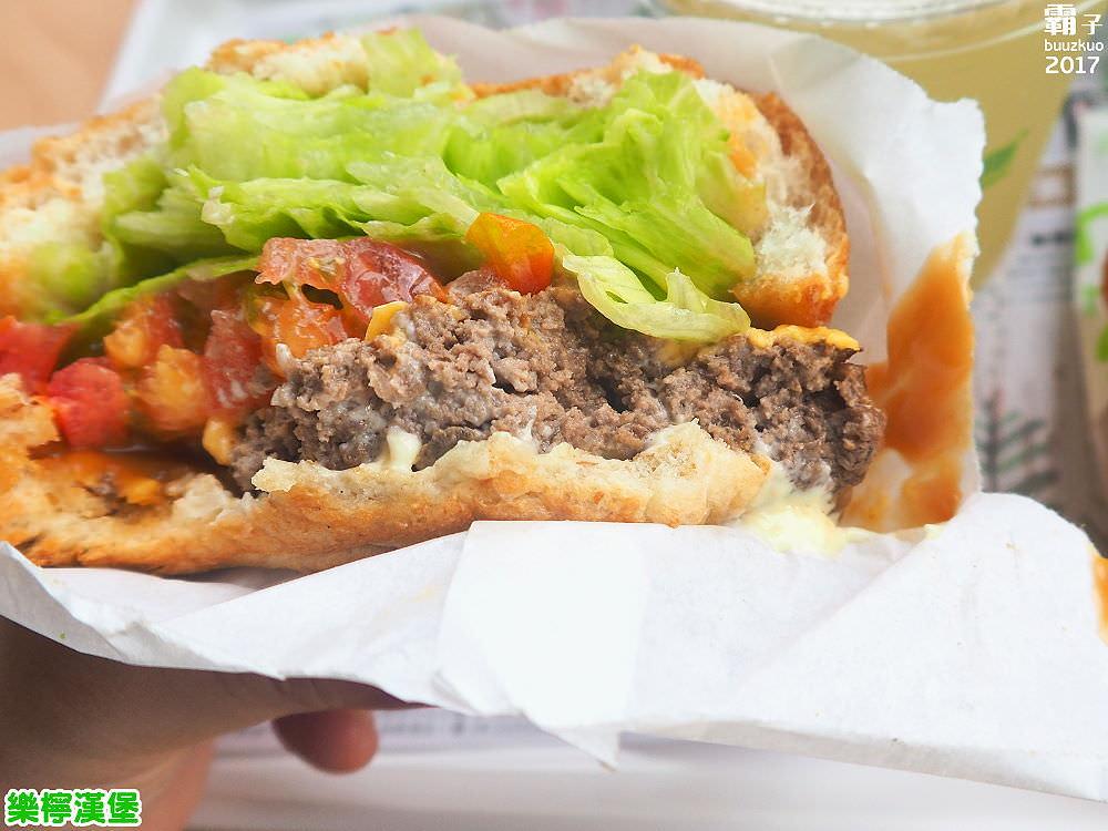 20171122182003 64 - 樂檸漢堡,台中轉運站內也有扎實肉香牛肉堡,搭配花生醬,經典美式吃法~
