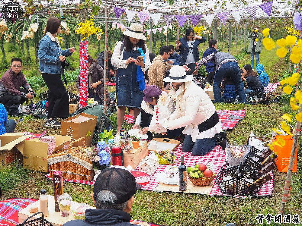 <台中旅遊> 外埔酒鄉田園野餐日,葡萄藤架下的野餐,品紅酒吃美食,還有外埔私房景點可以拍照打卡!