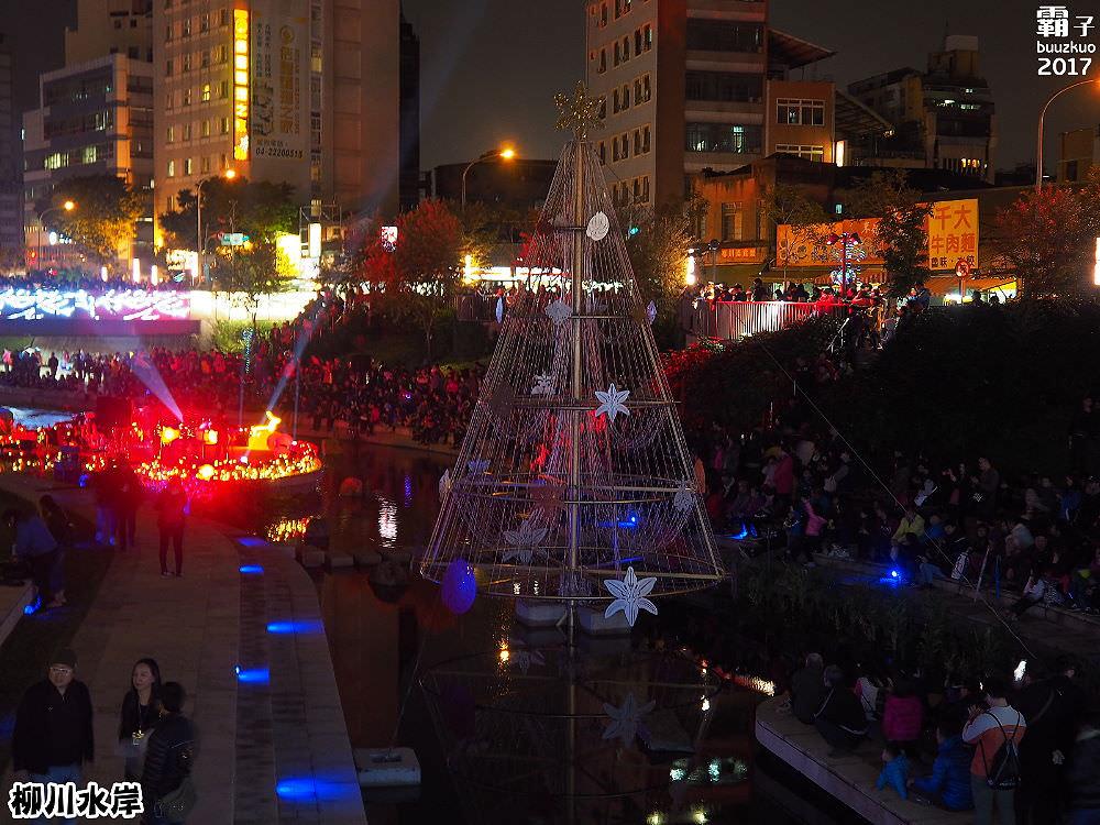 20171210010156 45 - 柳川水岸步道聖誕樹亮起來,中區柳川光景藝術展同步點燈~