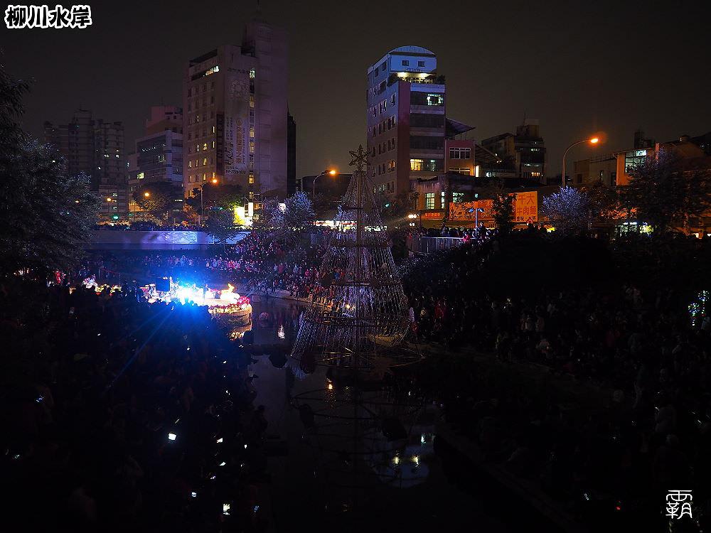 20171210010202 99 - 柳川水岸步道聖誕樹亮起來,中區柳川光景藝術展同步點燈~