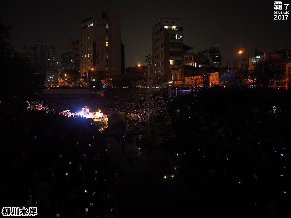 20171210010206 49 - 柳川水岸步道聖誕樹亮起來,中區柳川光景藝術展同步點燈~