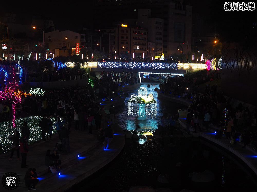 20171210010607 37 - 柳川水岸步道聖誕樹亮起來,中區柳川光景藝術展同步點燈~