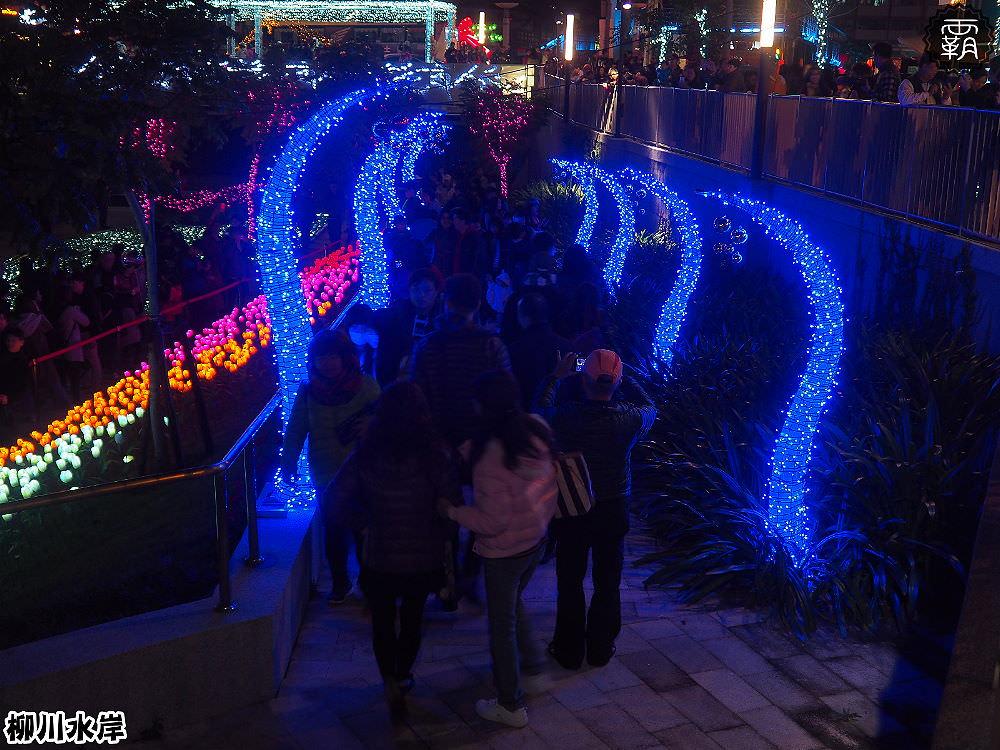 20171210010609 49 - 柳川水岸步道聖誕樹亮起來,中區柳川光景藝術展同步點燈~