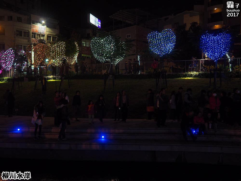 20171210010615 76 - 柳川水岸步道聖誕樹亮起來,中區柳川光景藝術展同步點燈~