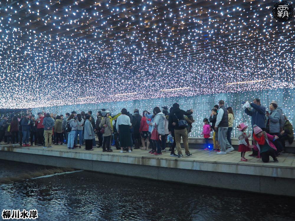20171210010627 44 - 柳川水岸步道聖誕樹亮起來,中區柳川光景藝術展同步點燈~