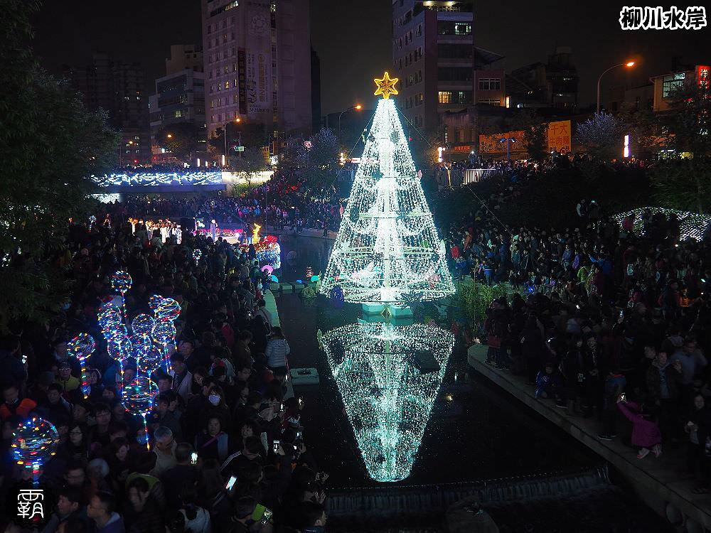 20171210010841 63 - 柳川水岸步道聖誕樹亮起來,中區柳川光景藝術展同步點燈~