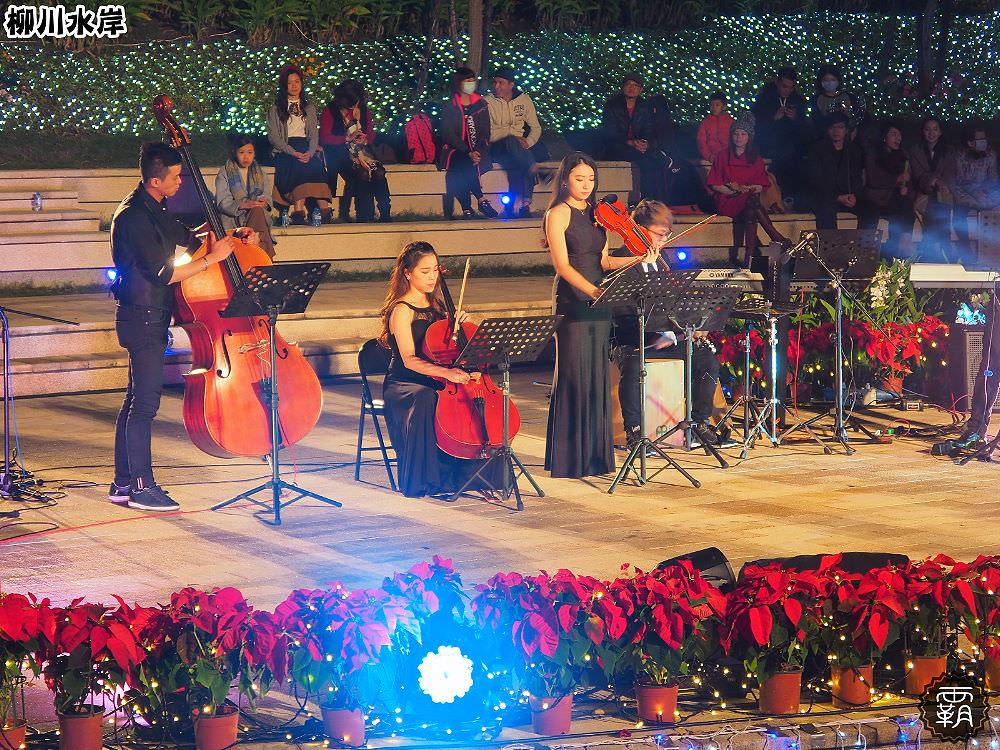 20171210011036 41 - 柳川水岸步道聖誕樹亮起來,中區柳川光景藝術展同步點燈~