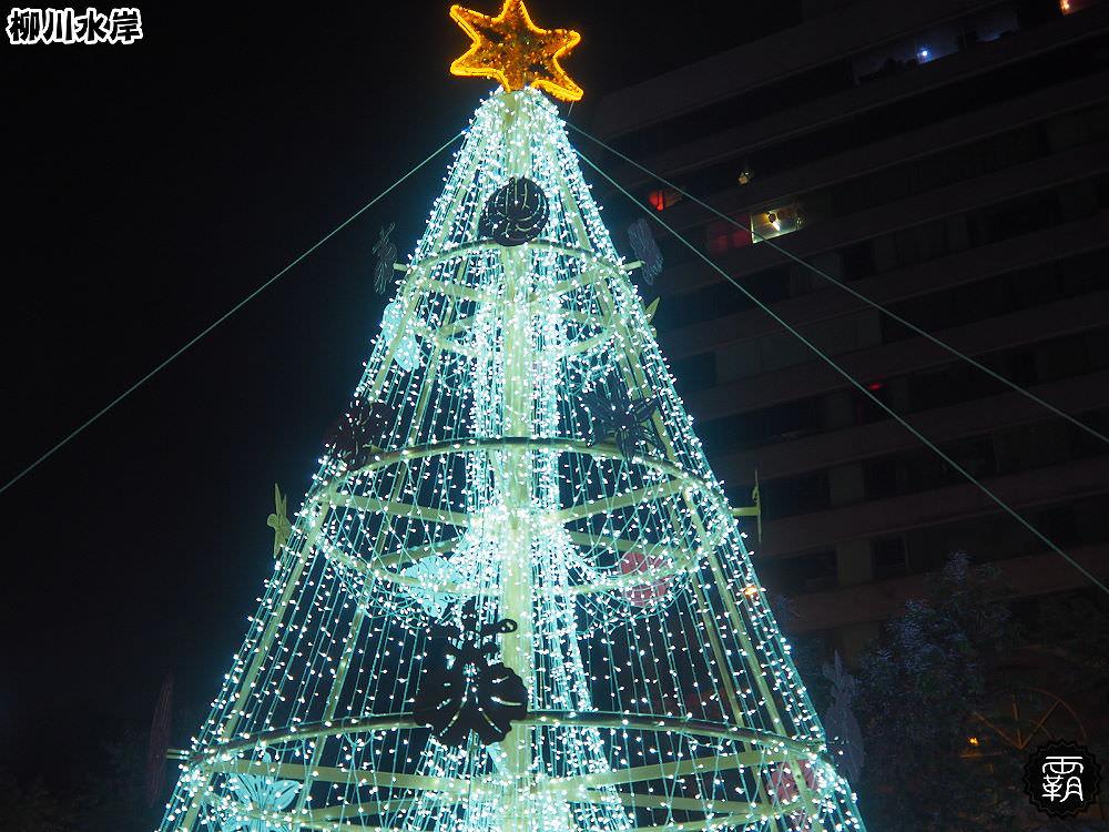20171210011038 15 - 柳川水岸步道聖誕樹亮起來,中區柳川光景藝術展同步點燈~