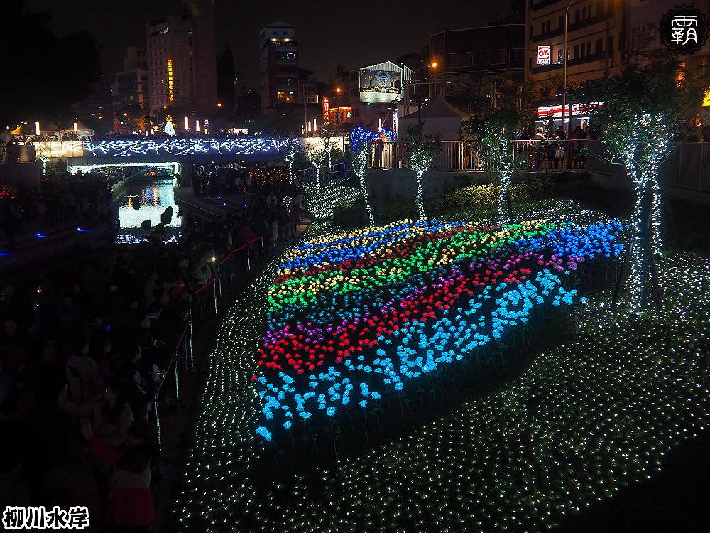 20171210011219 39 - 柳川水岸步道聖誕樹亮起來,中區柳川光景藝術展同步點燈~