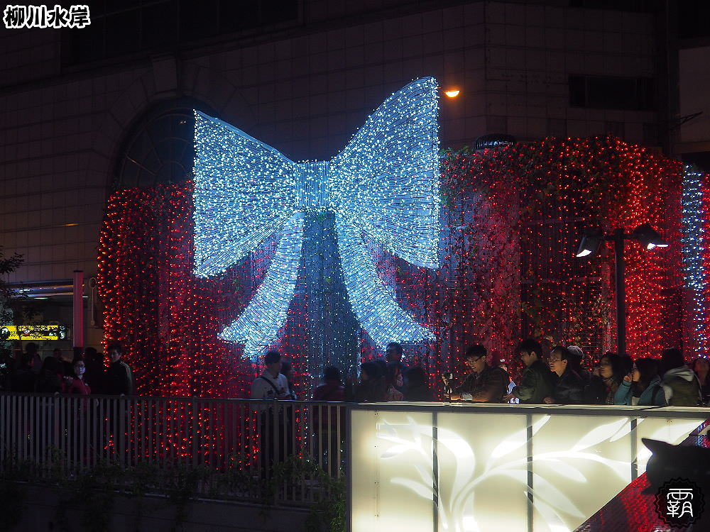 20171210011221 12 - 柳川水岸步道聖誕樹亮起來,中區柳川光景藝術展同步點燈~