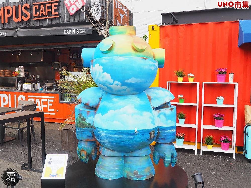 20180305172817 9 - 有機器人大軍出沒!UNO市集有大型機器人公仔展出,大家快去找公仔拍照打卡!