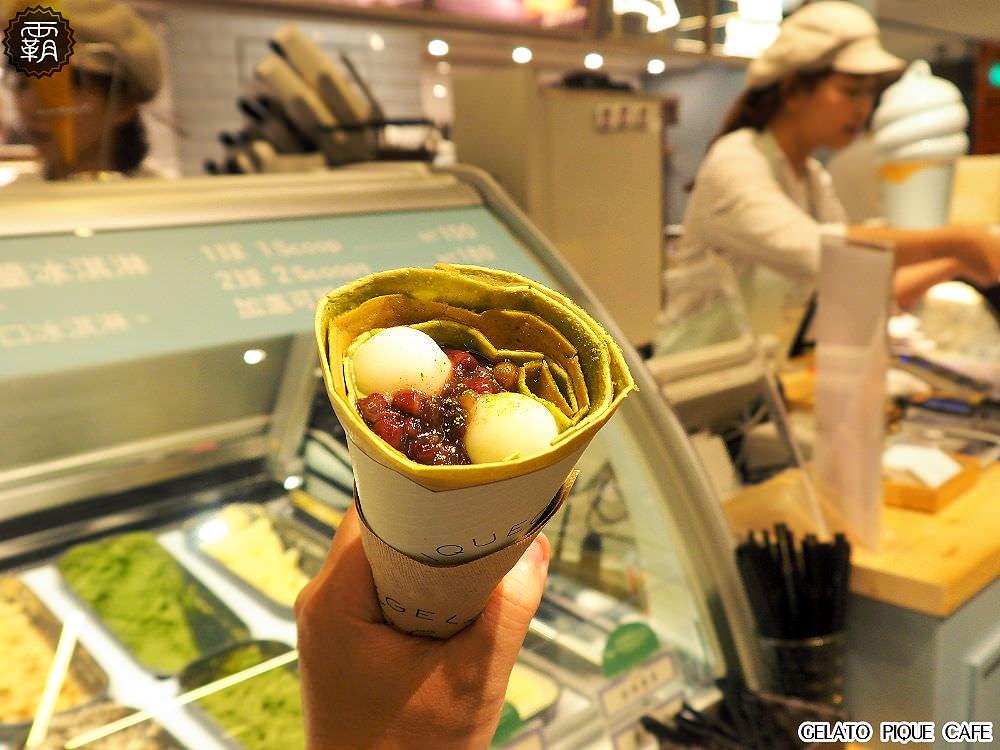 20180330205024 96 - gelato pique cafe台中店開幕~有辻利抹茶口味可麗餅耶~