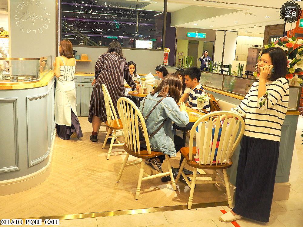 20180330205316 52 - gelato pique cafe台中店開幕~有辻利抹茶口味可麗餅耶~