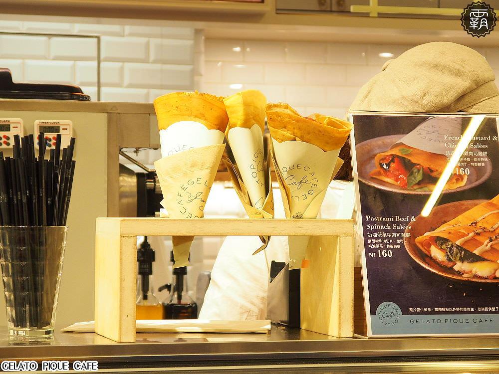 20180330223300 31 - gelato pique cafe台中店開幕~有辻利抹茶口味可麗餅耶~