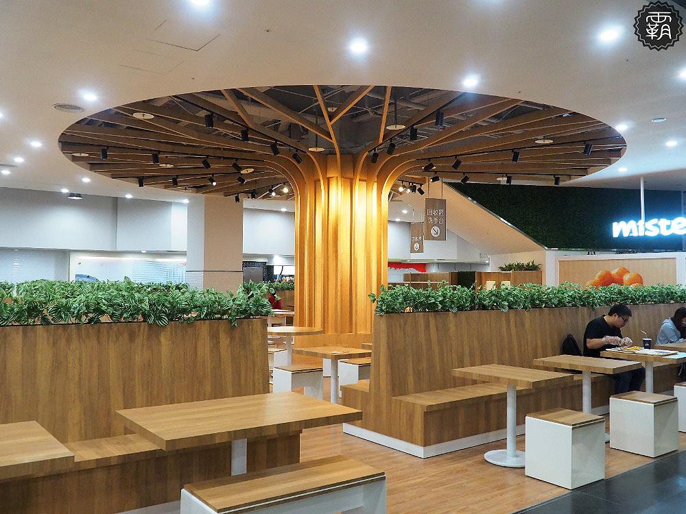 20180629131236 24 - 新時代購物中心美食街全新改版,大樹座位底下好多人乘涼,還有麥當勞、稻村麵包等近20家知名餐飲進駐~