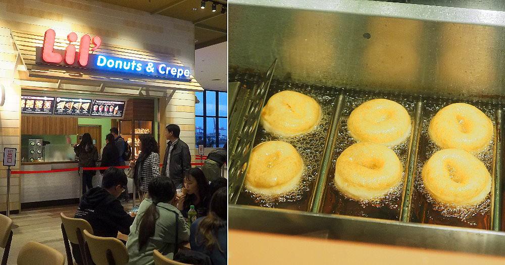 20181227110042 68 - 台中三井北海道Lil' Donuts甜甜圈,看現場製作甜甜圈好療癒~