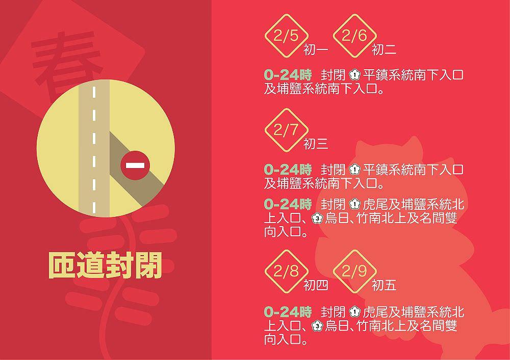20190205212152 55 - 春節初三國道高乘載管制,預計有16處壅塞路段,長、短程替代道路報你知~
