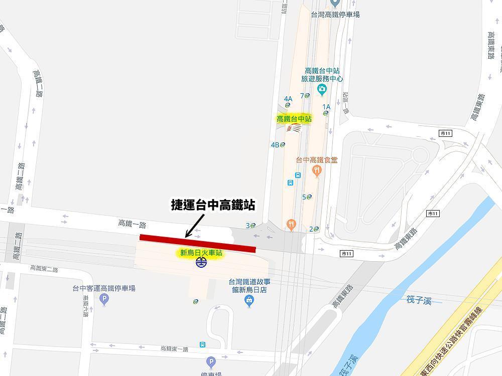 20190513112937 10 - 台中捷運三處轉乘車站,台中高鐵站還是三鐵共站~