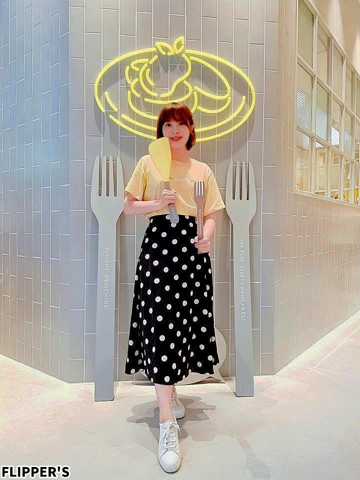 20190808231059 27 - 熱血採訪 | 奇蹟的舒芙蕾鬆餅台中首店開幕!FLIPPER'S軟綿鬆餅超迷人,點芒果限定口味送迷你隨身揹袋!