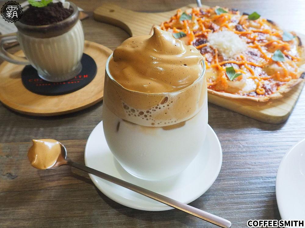 20200705124504 78 - 工業風咖啡名店Coffee Smith也推出400次咖啡,咖啡蓋好綿密厚實~