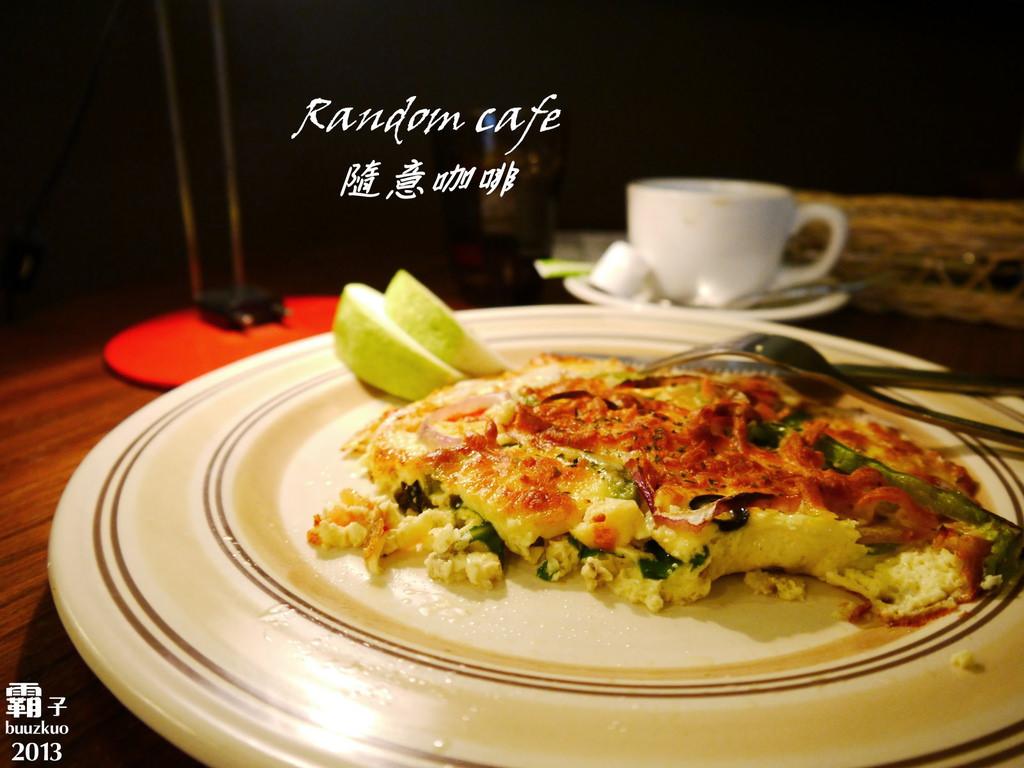 <貪吃 IN 台中> 宛如在自家內吃早午餐「Random cafe 隨意咖啡」~(結束營業)